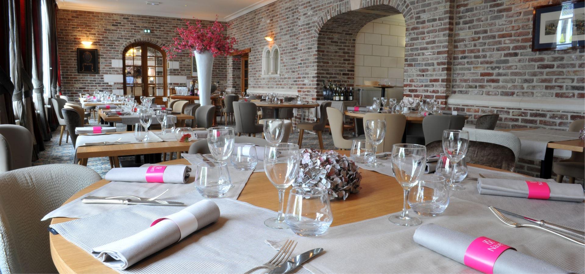 La salle du restaurant Najeti le Clusius