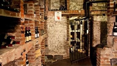 La cave du Najeti Restaurant le Clusius à Arras