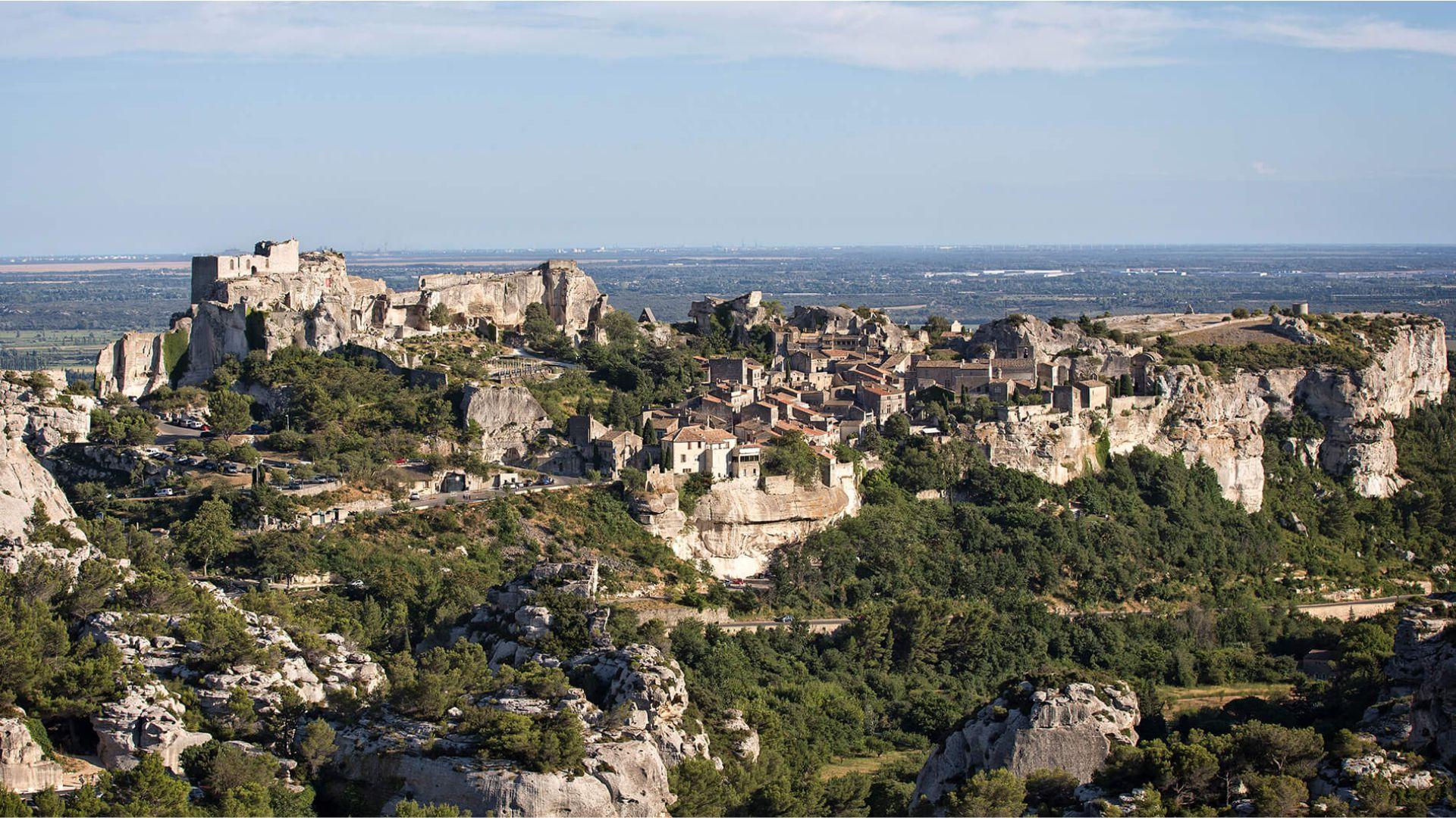 Le village des Baux-de-Provence