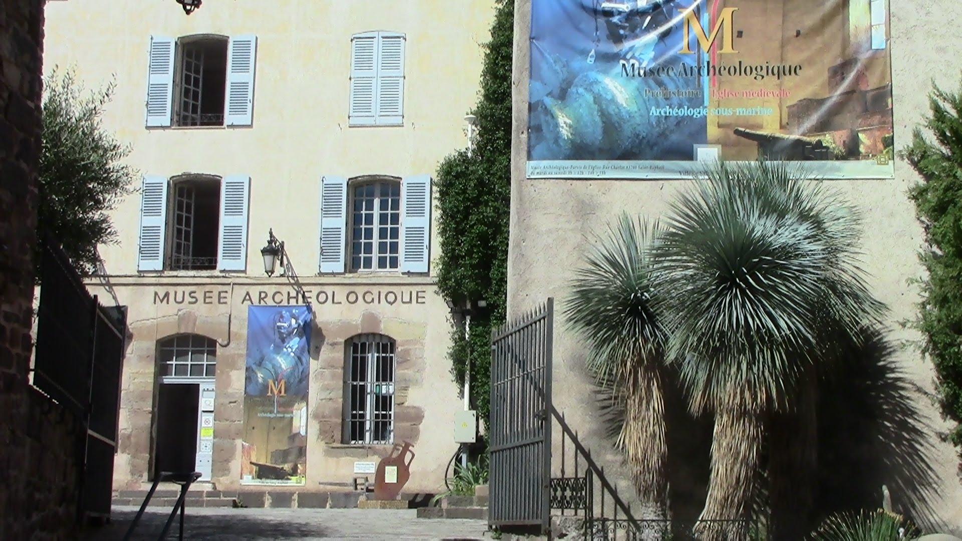 Façade du Musée archéologique de Saint-Raphaël
