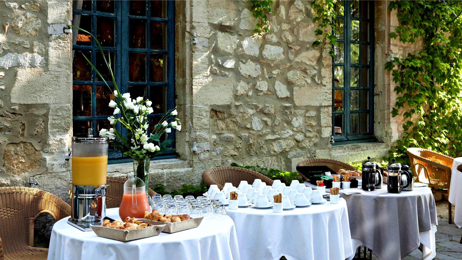 La pause gourmande du Najeti Hôtel la Magnaneraie à Avignon