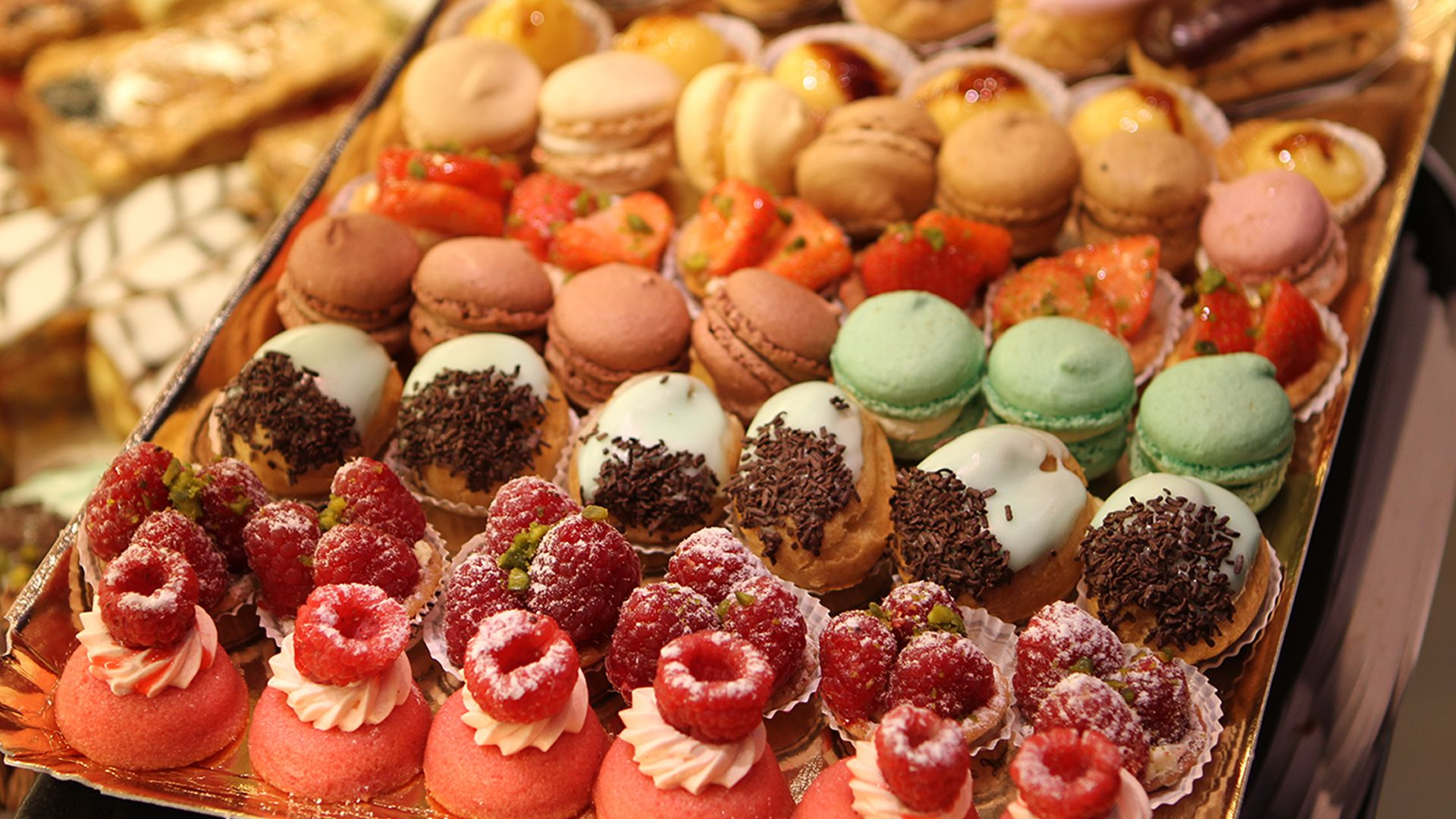 La pause gourmande : patisseries