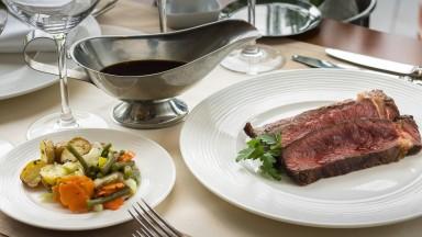 Plat de bœuf Najeti Restaurant Le Lodge