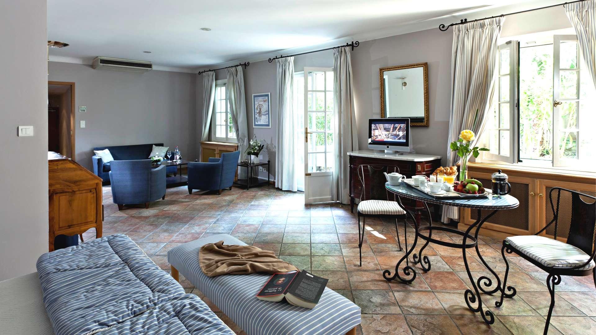 Chambre Junior Suite du Najeti Hôtel la Magnaneraie à Avignon