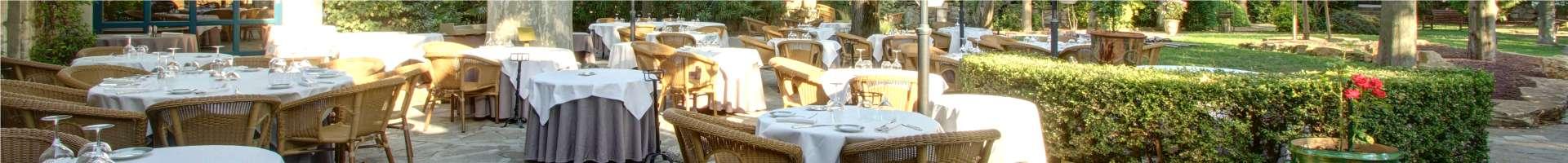 La terrasse du Najeti Hôtel la Magnaneraie à Avignon