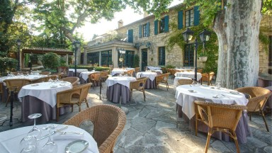 La terrasse du Najeti Restaurant le Mûrier