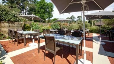 La terrasse du Najeti Restaurant l'Orangerie