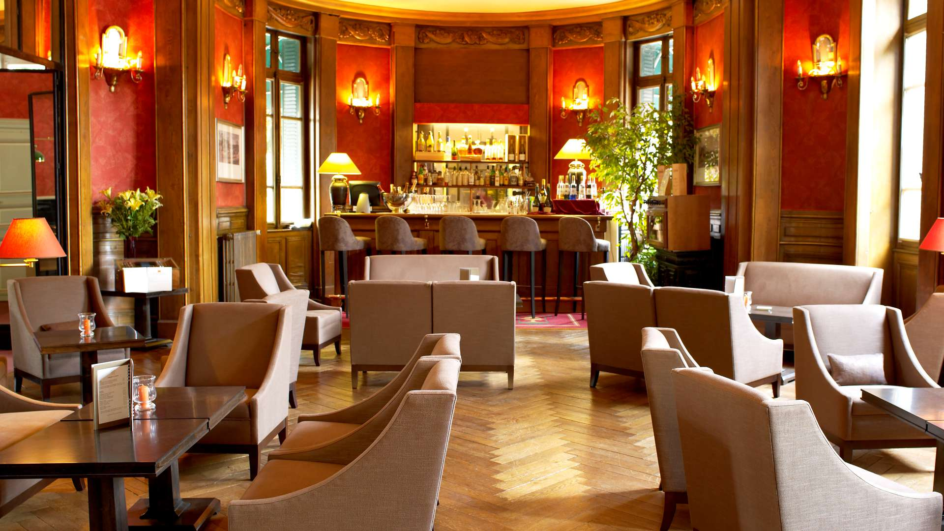 Bar du Najeti Hôtel de la Poste à Beaune.
