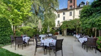 La terrasse du Najeti Restaurant le Relais