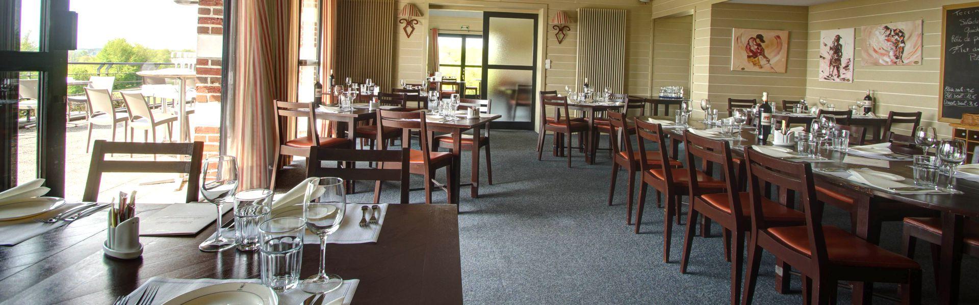 L'intérieur de la Najeti brasserie le Ristandèl