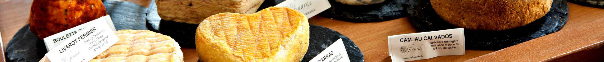 Fromages du restaurant le Clusius au Najeti Hôtel de l'Univers