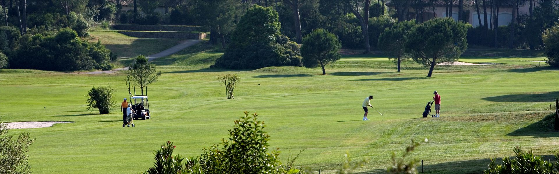 Le golf du Najeti Hôtel de Valescure
