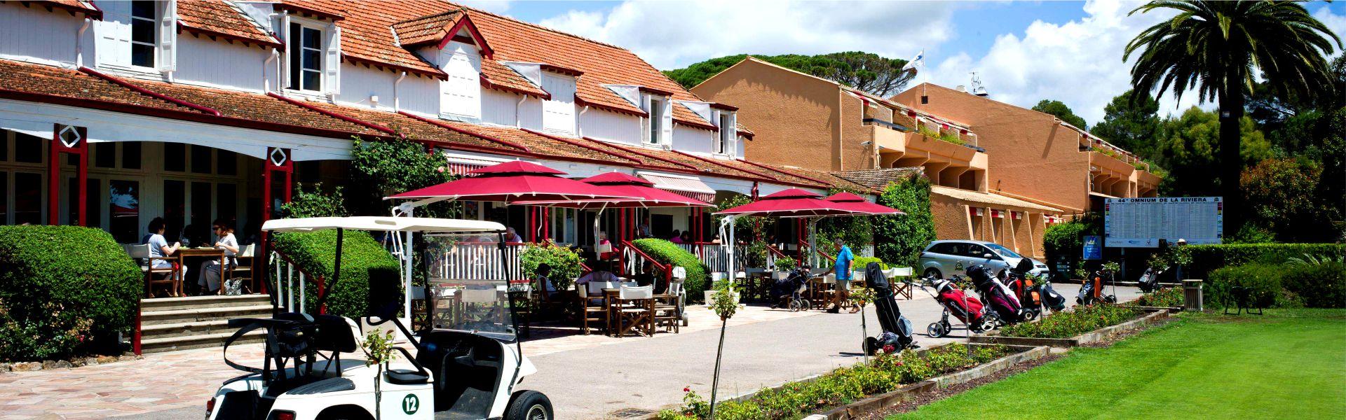 La brasserie le Club House du Najeti hôtel de Valescure