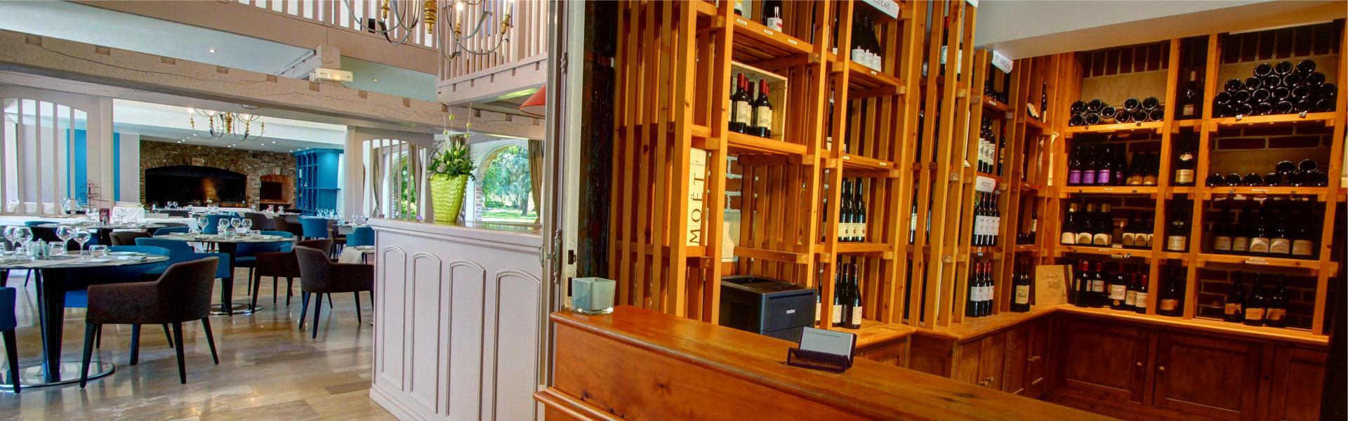 L'entrée du Najeti Restaurant le Vert Mesnil