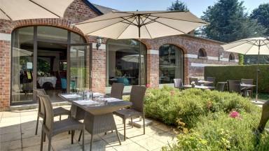 La terrasse du Najeti Restaurant le Vert Mesnil